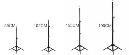 Lampa pierścieniowa 100W + uchwyt + statyw 190 cm