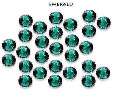 Swarovski Cyrkonie SS10 50 sztuk Emerald